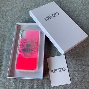 Kenzo iPhone X/XS case in pink